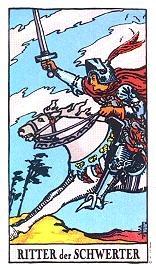 Ritter Der Schwerter Tarot Karte Deutung Kartenlegen Bedeutung